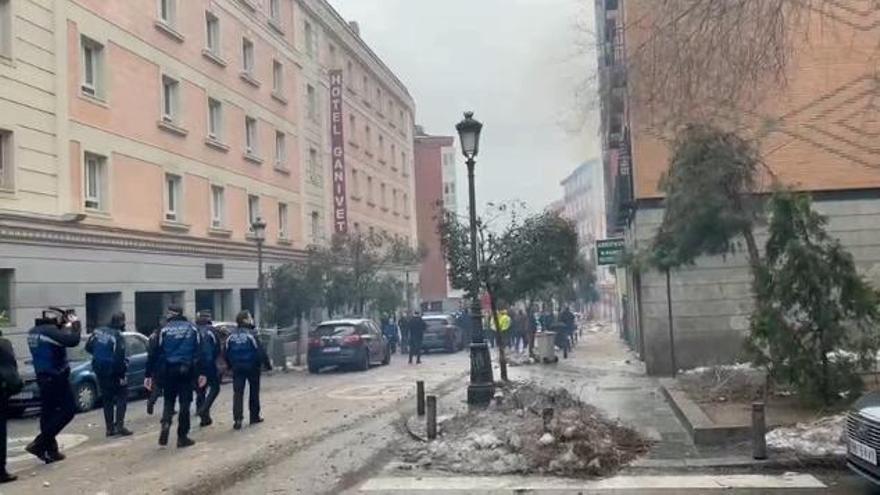 Esto fue lo que vio una testigo gallega segundos después de la explosión en Madrid