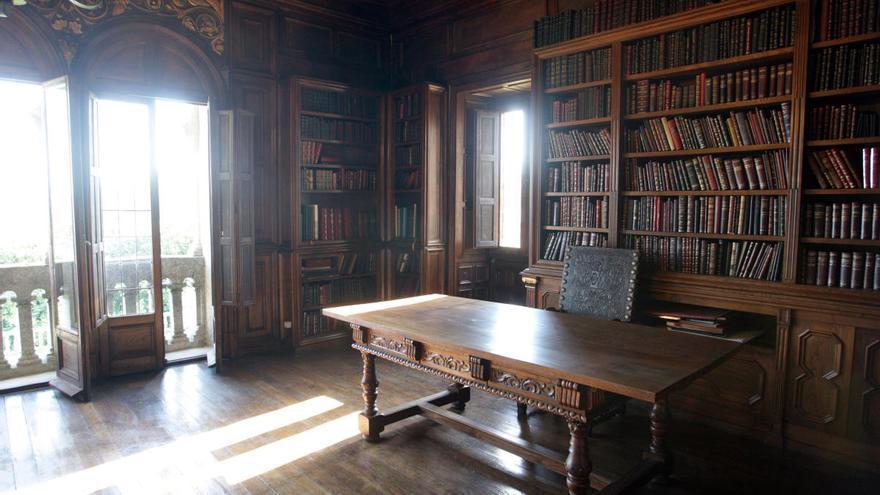 La biblioteca de Pardo Bazán ya es Bien de Interés Cultural de forma provisional