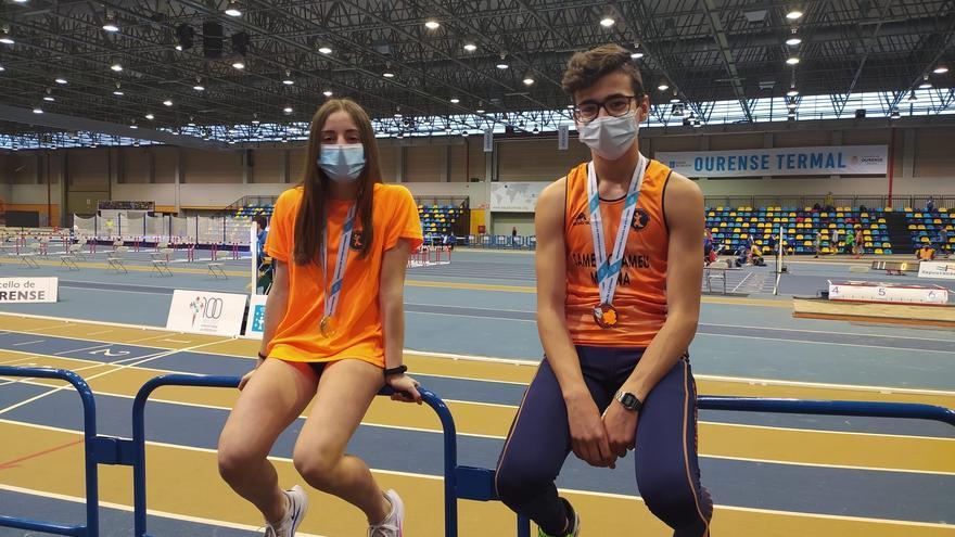 Cantera de jóvenes atletas en Moaña