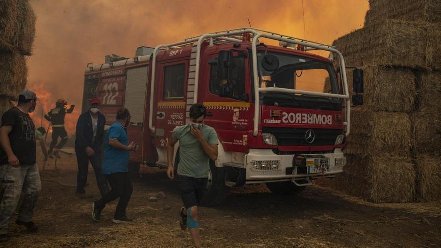 Zamora y León, casi la mitad de la superficie forestal quemada este verano en España
