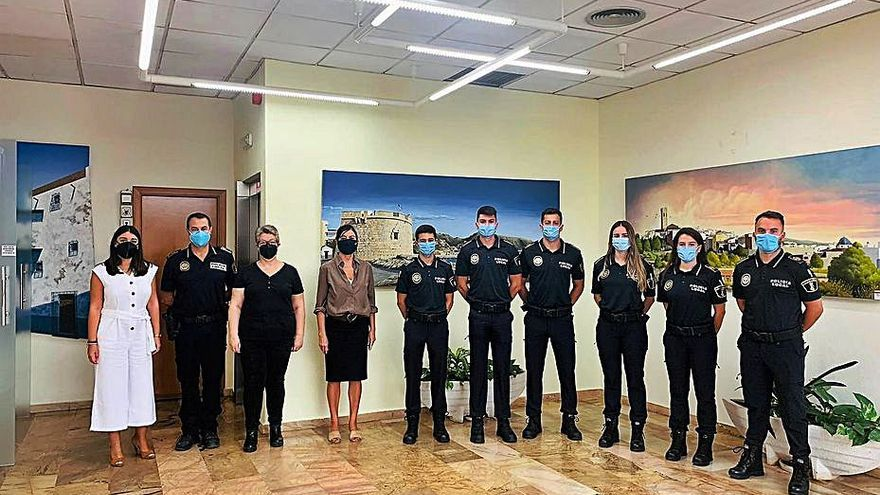 Nuevos policías en Teulada