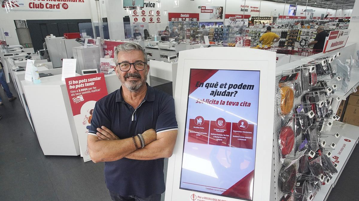 Maneu Fernández, gerent de MediaMarkt Girona