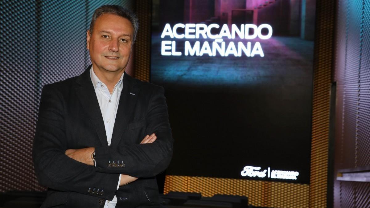 Jesús Alonso, presidente de Ford España