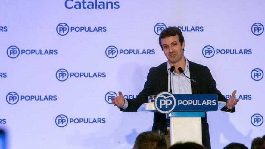 """Casado llama a recuperar el voto perdido de PP ante la """"amenaza nacionalista"""""""