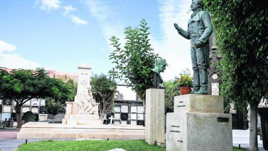 Un monumento funerario para Chirino