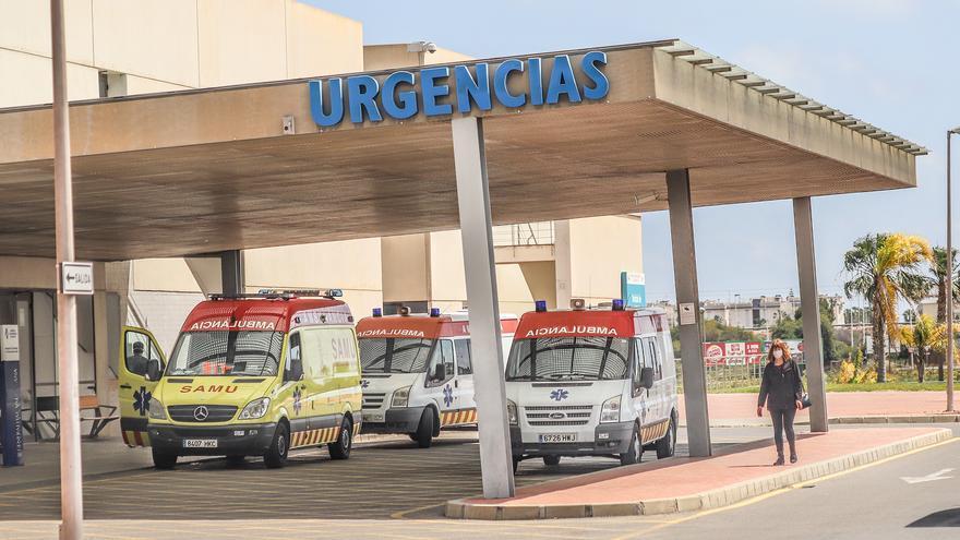 El 50% de las camas de UCI del Hospital Universitario de Torrevieja están ocupadas por pacientes covid