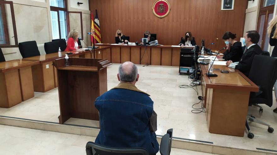 Dos años de cárcel de por abusos a una amiga de su hija menor de edad en Palma
