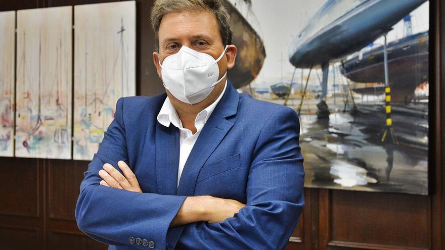 """Luis Ibarra: """"Todos los proyectos que había en el Puerto se han mantenido pese a la Covid-19"""""""