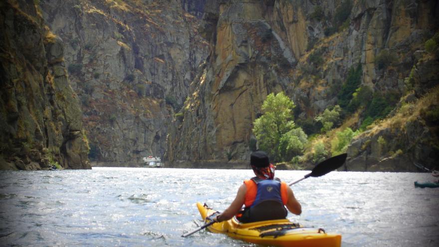 Kayak en los Arribes del Duero