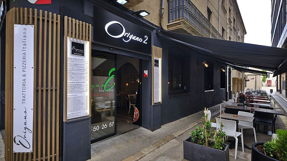 El nou Origano de Figueres està ubicat a l'antic Saboya de Figueres | BORJA BALSERA