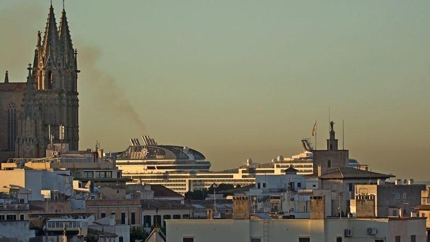 Palma unter Spitzenreitern bei Luftverschmutzung durch Kreuzfahrtschiffe