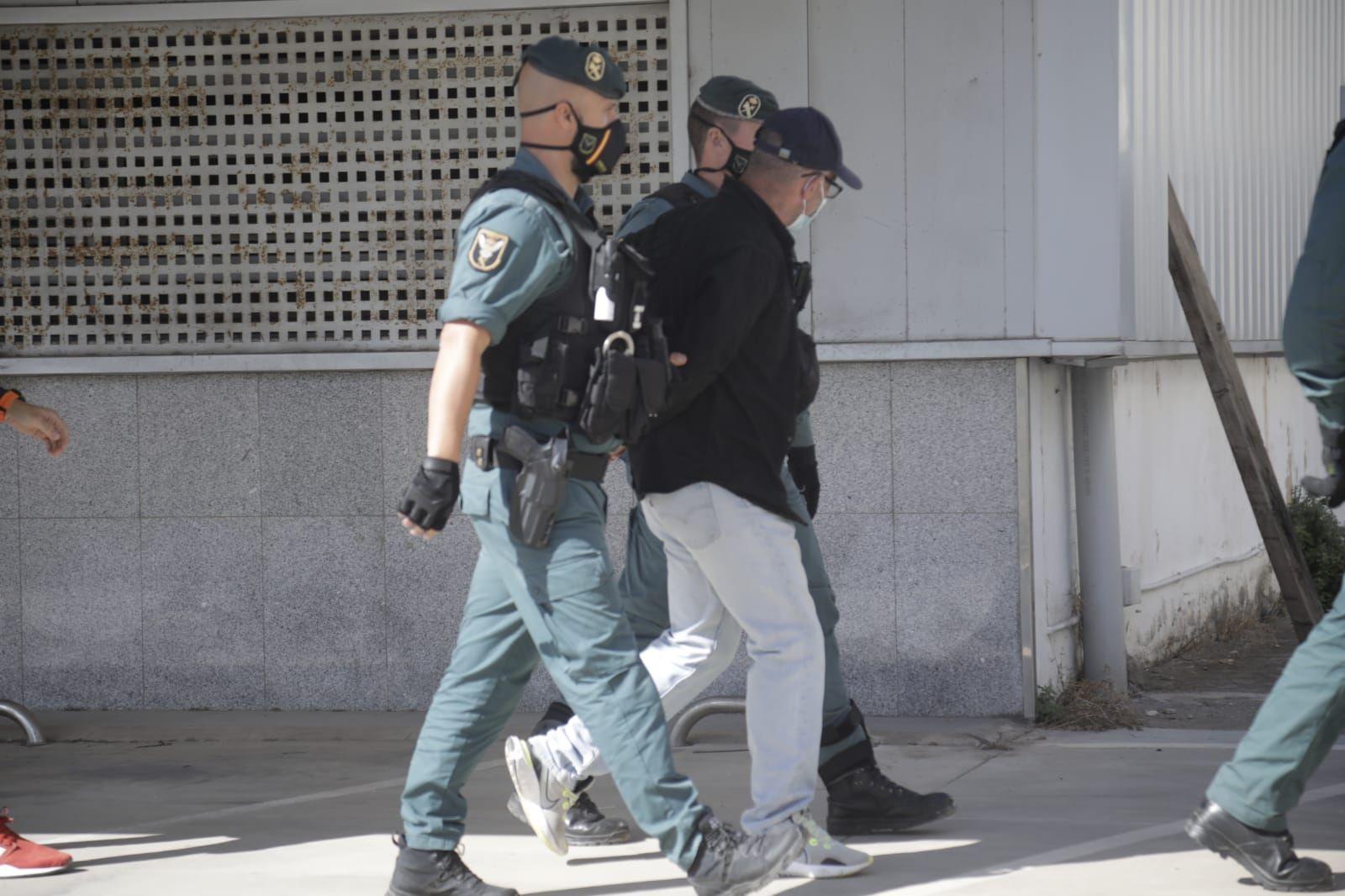 Operación conjunta de la Policía Nacional y la Guardia Civil contra una banda de ladrones de coches