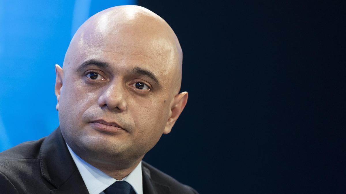 El ministro británico de Sanidad, Sajid Javid.