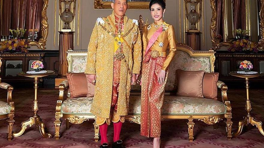 Vuelve el trío al palacio de Tailandia