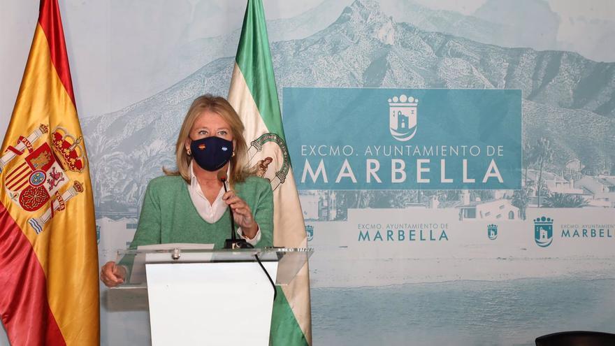 Muñoz pide a los vecinos de Marbella que se confinen de forma voluntaria a las ocho