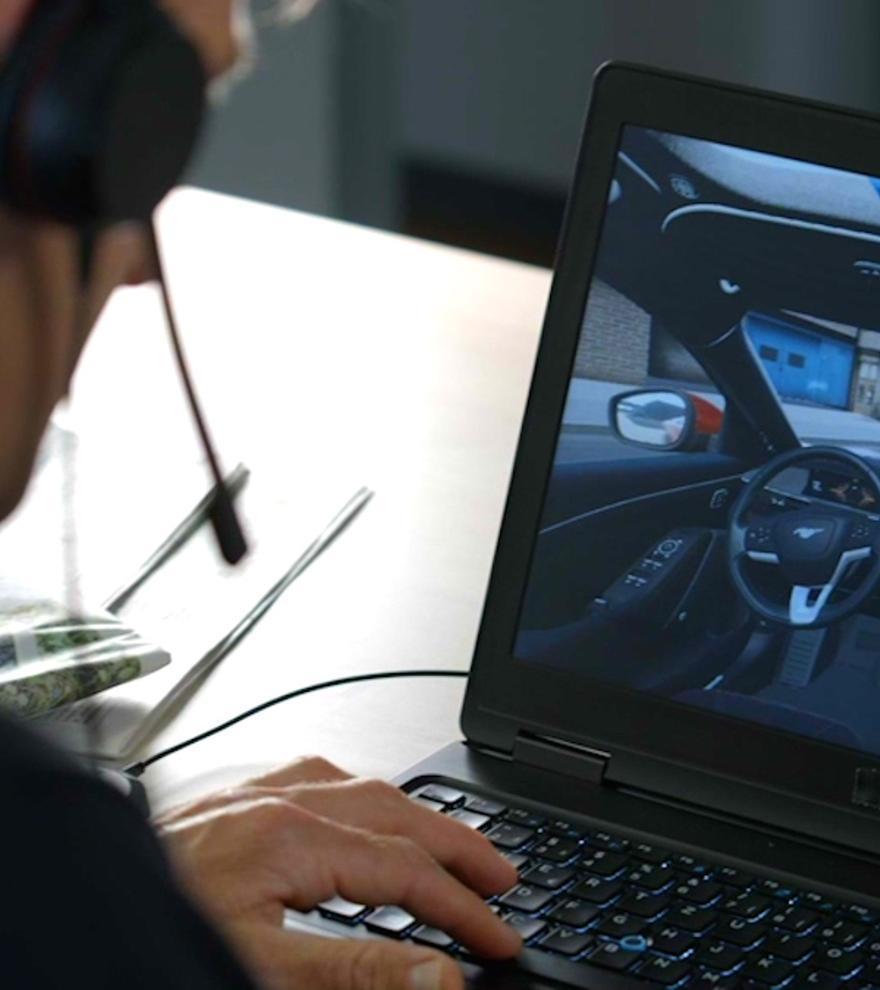 Ford utiliza tecnología de videojuegos para diseñar y probar sus nuevos coches