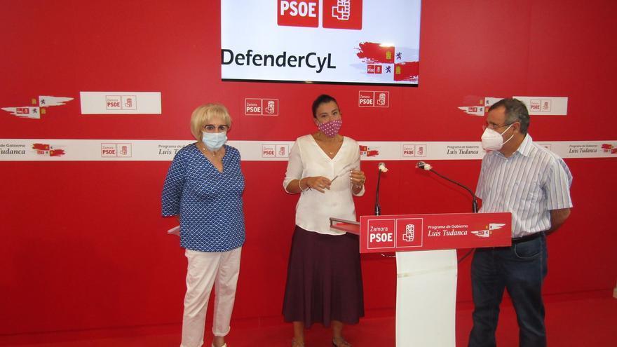 """El PSOE de Zamora ve """"cinismo"""" en el PP y Ciudadanos por reclamar a la Junta el apoyo a la Silver Economy"""