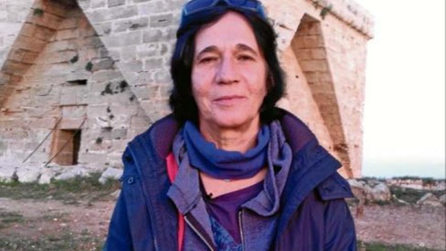 Magadalena Rigo, primera bombera de España.