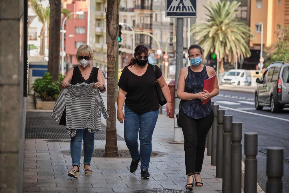 Reunión concejales del PSOE de Arona en el Hotel Escuela