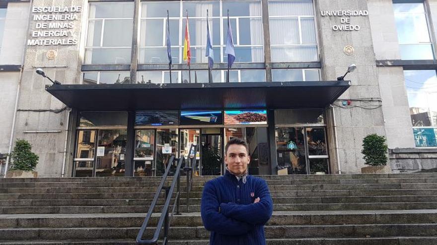 Un asturiano, el mejor graduado de España en Ingeniería de Minas
