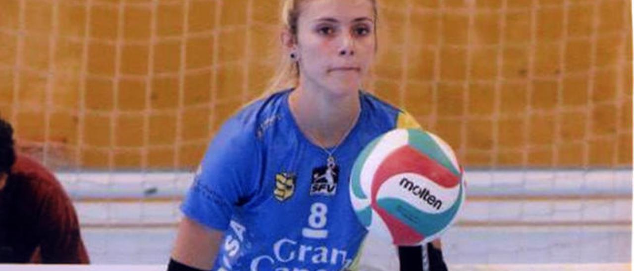Saray Manzano, con la camiseta del IBSA Olímpico