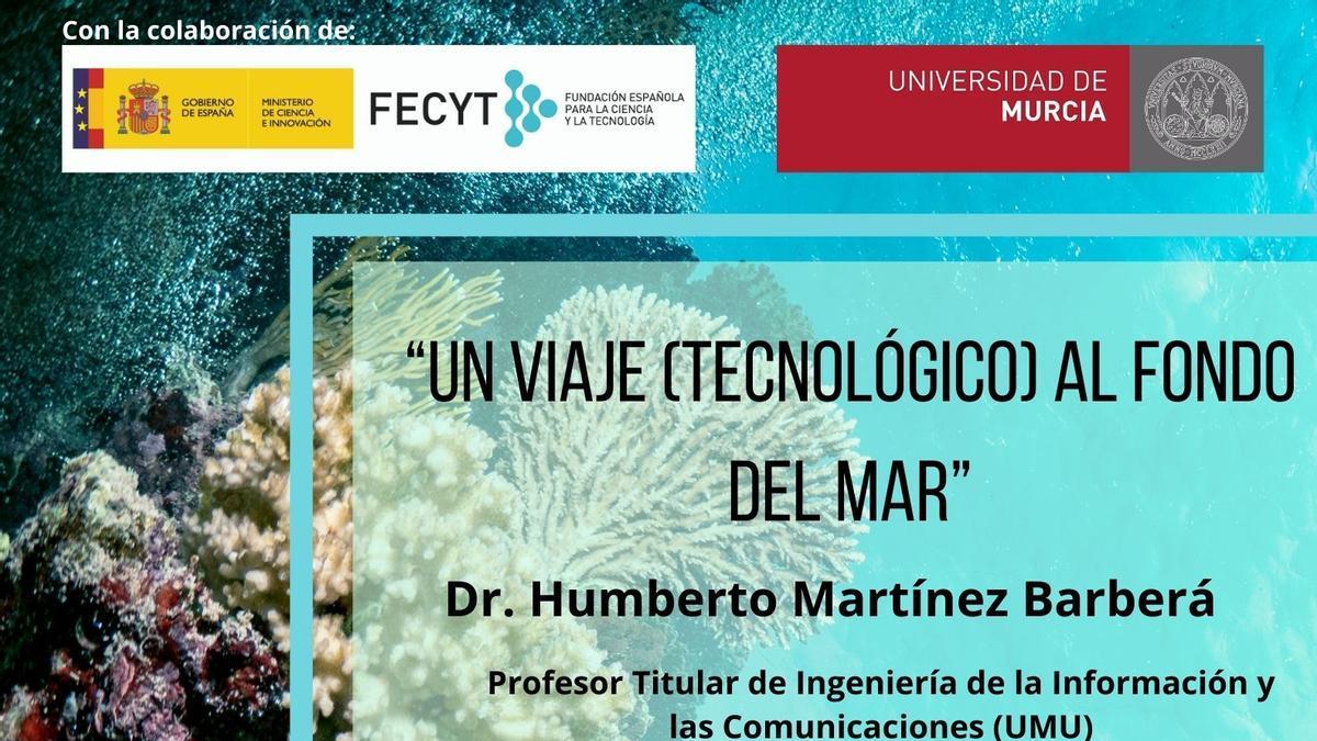 Realiza un viaje tecnológico al fondo del mar con la nueva conferencia de El Corte Inglés y la UMU