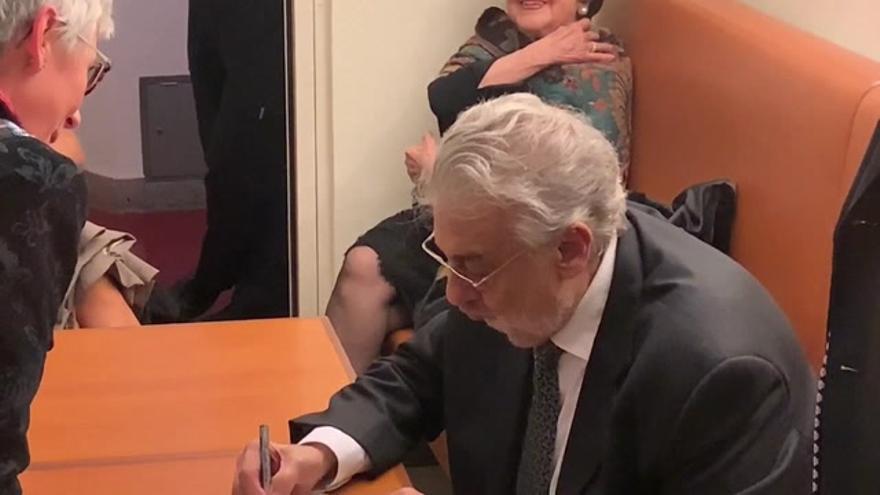 """Plácido Domingo: """"Acepto toda la responsabilidad de mis acciones"""""""