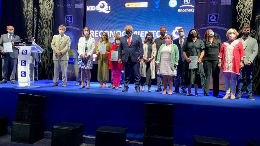 El Auditorio de la Diputación de Alicante recibe en Madrid la Certificación Q de Calidad turística concedida por el ICTE
