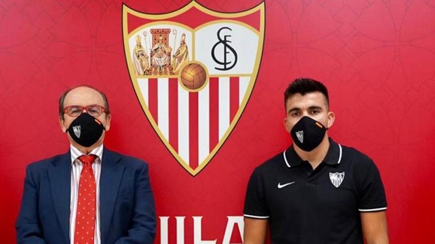 El Sevilla se refuerza con la llegada de Marcos Acuña