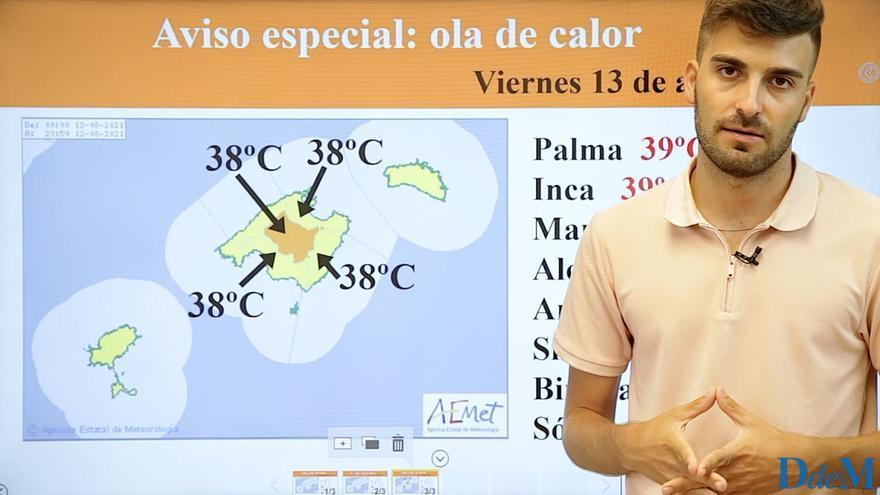 La ola de calor se recrudece a partir del jueves