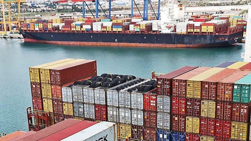 Valenciaport logra un tráfico histórico en agosto por las exportaciones