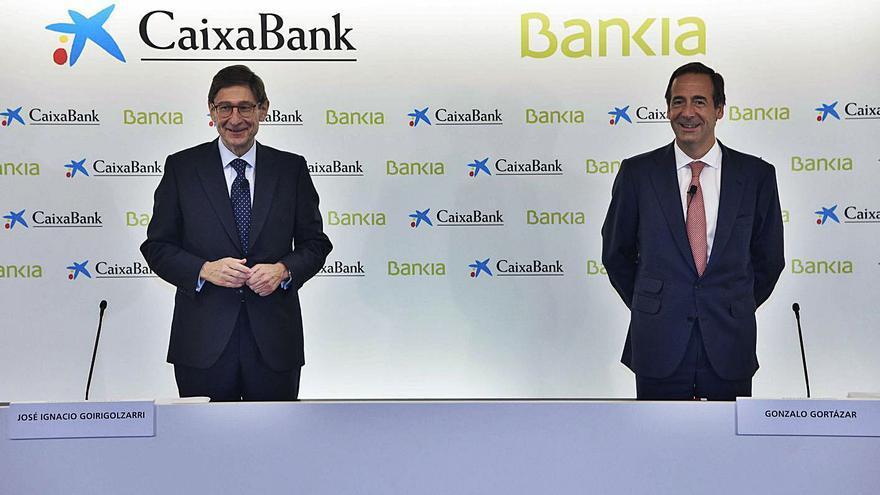 CaixaBank ampliará capital para el canje de acciones de Bankia