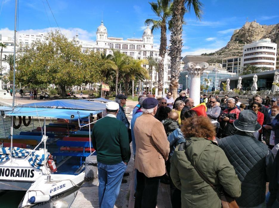 Homenaje al capitán del buque Stanbrook que permitió en 1939 salir de Alicante a miles de republicanos.