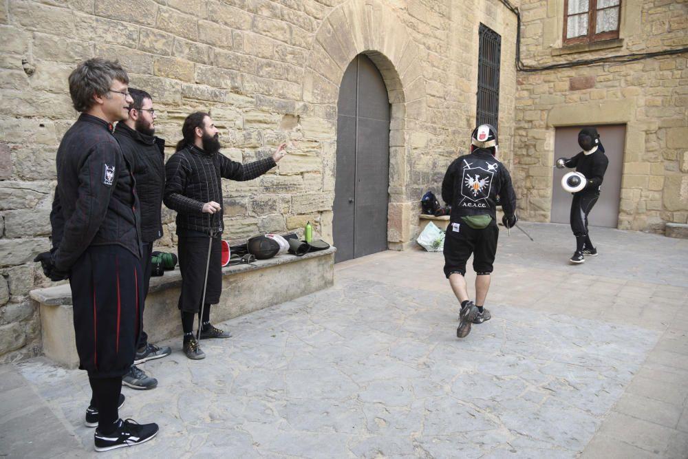 Les festes de Sant Ignasi arrenquen amb la faceta més guerrera de Loiola