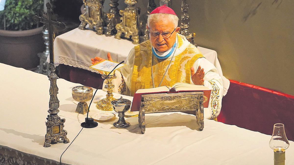 El obispo en una imagen de archivo.