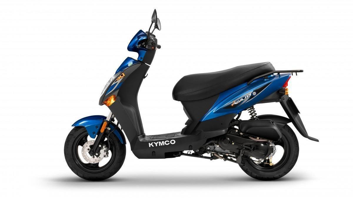 El Kymco Agility 50 llegará al mercado en junio