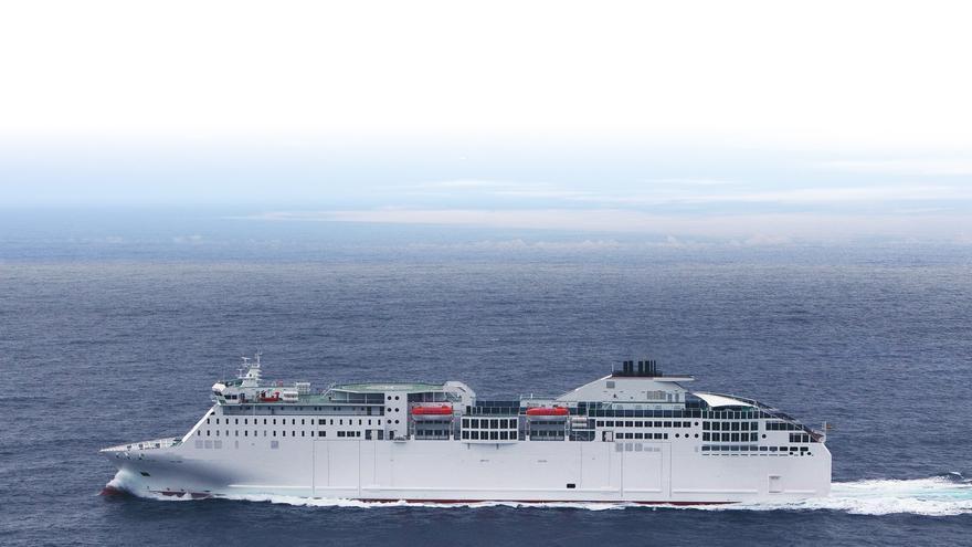 Naviera Armas vuelve a navegar entre Canarias y Huelva