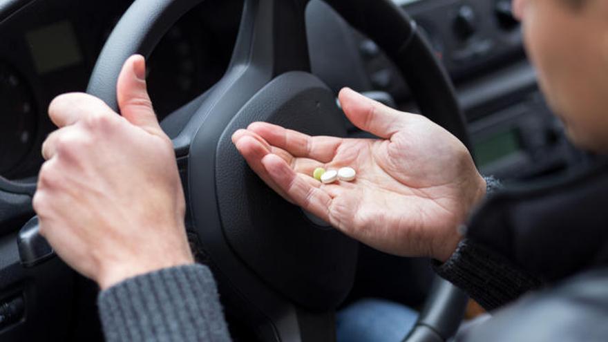 ¿Cómo y qué medicamentos afectan a la conducción?
