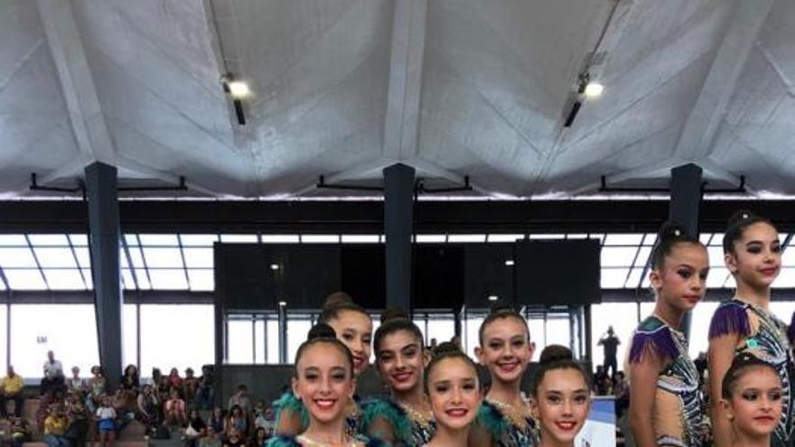 Attenya Telde arrasa en el Campeonato de Canarias de Gimnasia Rítmica