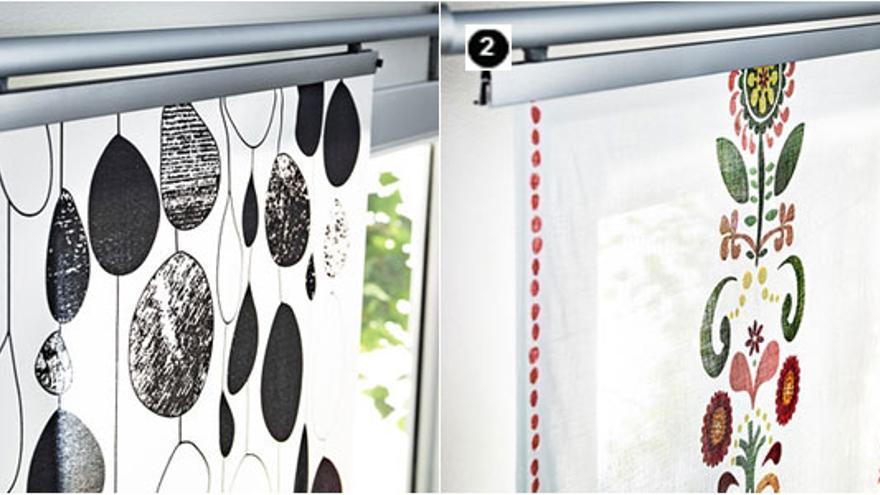 telas panel japones ikea
