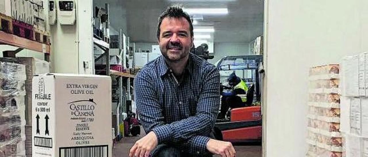 Óscar Casorran, fundador de Amigo Food Group.   El Periódico