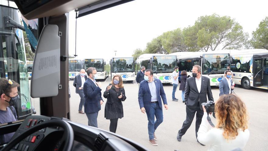 La EMT incorpora a partir de hoy los últimos 23 buses de los 100 adquiridos