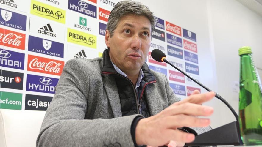 """Alfonso Serrano: """"Es el momento de que vengan hombres"""" al Córdoba CF"""