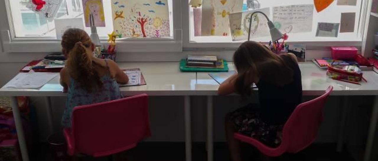 Muchos padres consideran que sus hijos tienen una excesiva carga de deberes mientras que los docentes se dividen entre los partidarios y los detractores.