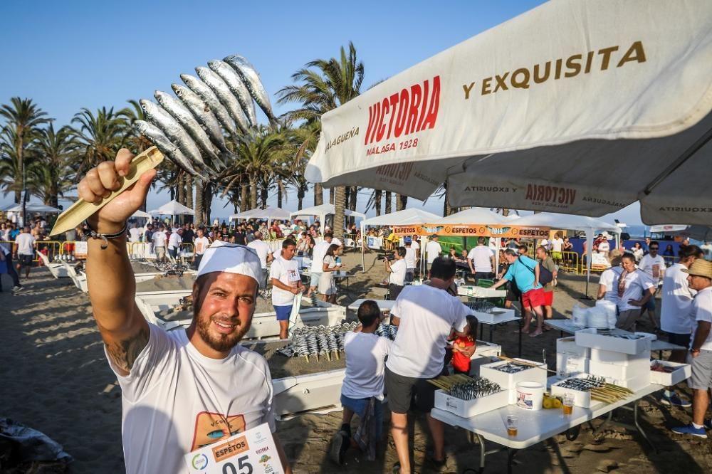 Concurso de espeteros celebrado en Torremolinos