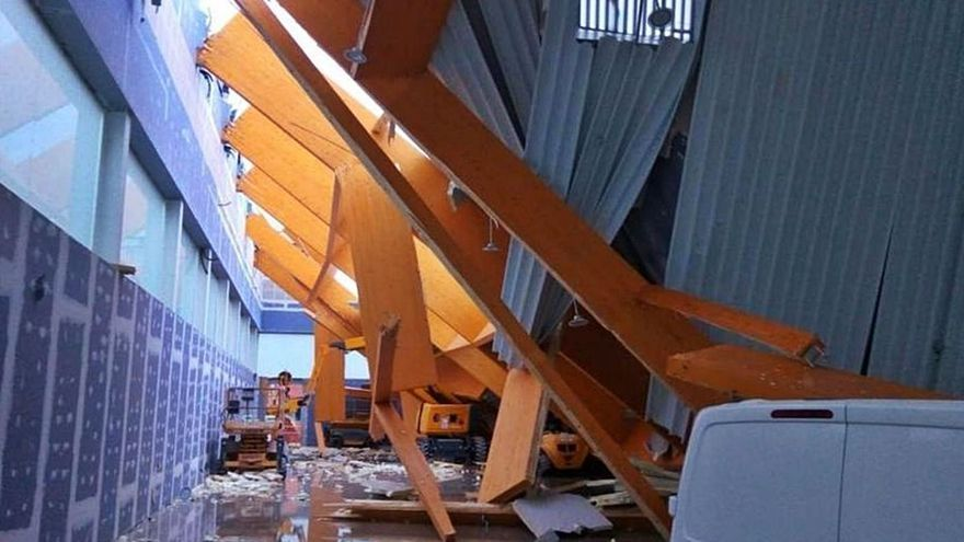 Urbanismo da un paso clave para retomar las obras del pabellón de Puerto de la Torre