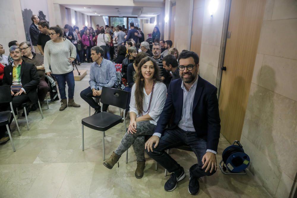El sector nacionalista de Més acapara los puestos de salida