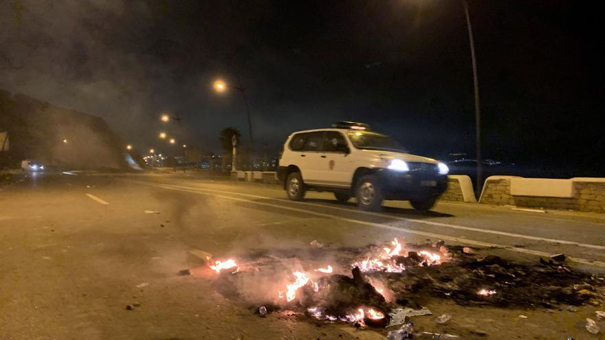 La tensión en Ceuta se traslada al otro lado de la frontera