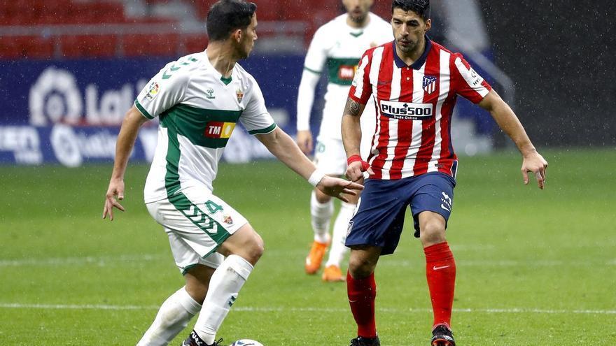 El Elche recibirá al Atlético de Madrid el sábado 1 de mayo