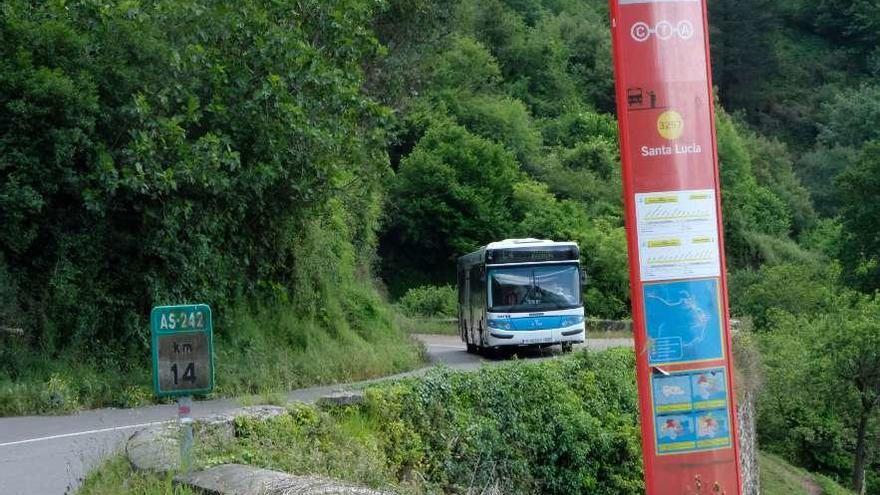 La empresa de buses de Mieres le costó 868.568 euros al Ayuntamiento en 2019